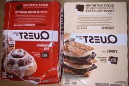 12+12 Quest Cinnamon Roll + S'mores Protein Bars BB 2/20+6