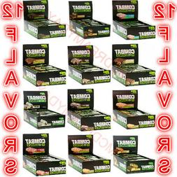 2 Packs of Flavor : MusclePharm Combat Crunch Protein 12 Bar