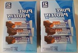 42/1.76oz Pure Protein Bar,GF Snack,Variety,Chocolate Deluxe