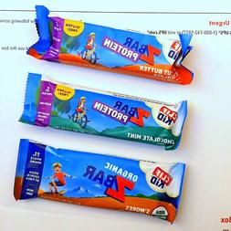 80 CLIF KID ENERGY PROTEIN Z BAR CHOCOLATE MINT PEANUT BUTTE