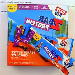 80 CLIF KID ENERGY PROTEIN Z BAR PEANUT BUTTER CHOCOLATE 08A