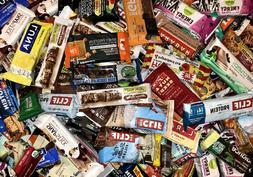 ~90  Assorted Brand NUTRITION PROTEIN ENERGY BARS Luna Power
