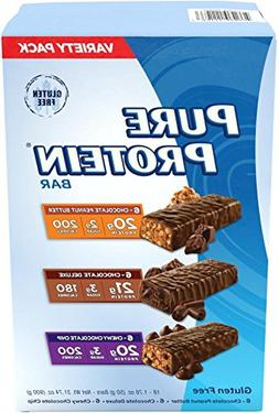Pure Protein Bars Chocolate Variety Pack