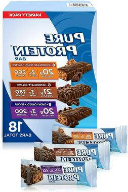 Pure Protein Bars, Healthy Snacks Support Energy, Variety Pa