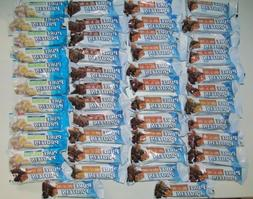 Pure Protein Bars HUGE LOT 46 Chocolate Peanut Butter Carame