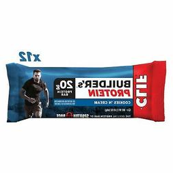 Builders Cookies and Creme Snack Bar, 2.4 Ounce -- 144 per c