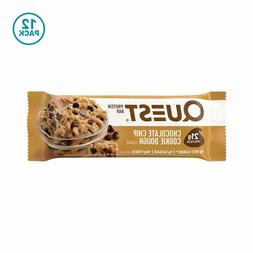 Quest Nutrition Chocolate Chip Cookie Dough Protein Bar, Hig