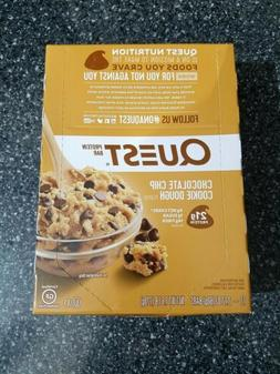 QUEST NUTRITION Chocolate Chip Cookie Dough Protein Bars - 1