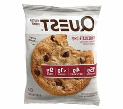 Quest Nutrition Chocolate Chip Protein Cookie, High Protein