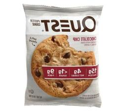 Quest Nutrition Chocolate Chip Protein Cookie, High Protein,