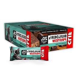 chocolate mint builder s protein bars 12