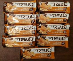 QUEST NUTRITION Chocolate Peanut Butter Protein Bars - 9 Cou