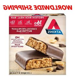 Atkins Chocolate Peanut Butter Protein Rich Meal Bar 10.6 Oz