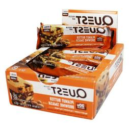 Quest Nutrition Double Layer Protein Bar PEANUT BUTTER BROWN
