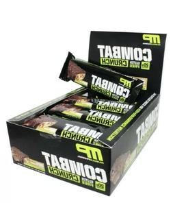 Combat Crunch Bars - Chocolate Peanut Butter Cup Flavor - Bo
