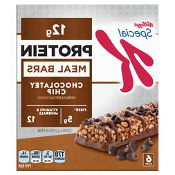 Kellogg's Special K Chocolatey Chip Protein Meal Bar, 6 ct