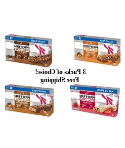 Kellogg's Special K Protein Bars, Family Size Value Pack 3-P
