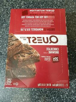 Quest Nutrition Keto PROTEIN BAR Low Carb, 12 Bars CHOCOLATE