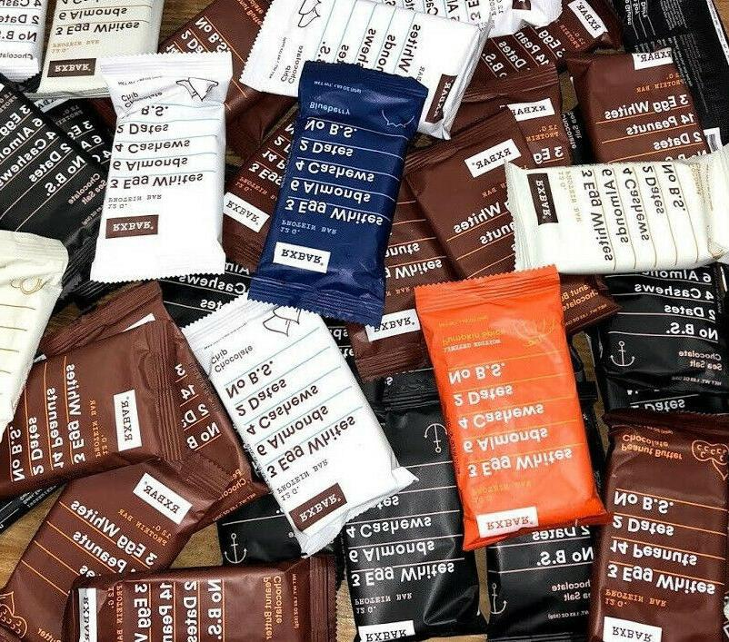 60 Flavor RXBAR 12g Bars To Picture