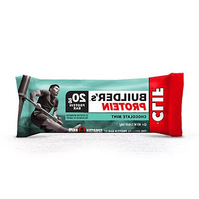 CLIF BAR Chocolate Builder's Protein Bars 12