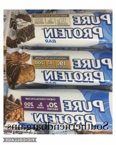 Lot Of 68 ~ Protein Protein Bar Varieties