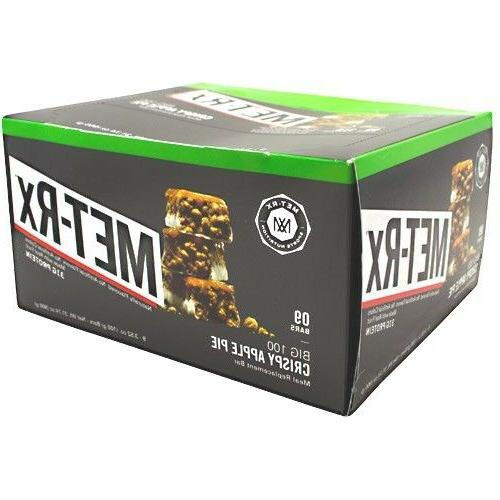 Met-Rx Colossal Meal Replacement Bar - Box Bars FLAVOR