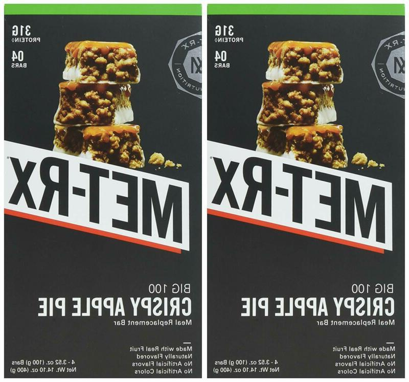 Met-Rx Big 100 Protein Bars, Healthy And