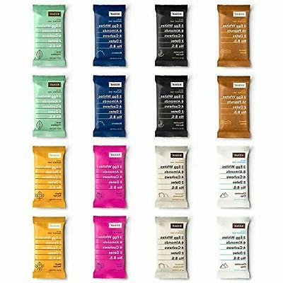 real food protein bars 8 flavor variety