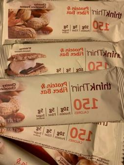 LOT 52 Think Thin Protein & Fiber Bars S'mores Chunky Chocol