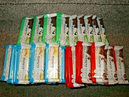 MIX LOT OF 36 Power Crunch Bars Protein Energy 13g Protein V