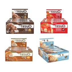 NEW QUEST PROTEIN BARS 12 PACK PICK FLAVOR 20G IN STOCK FREE