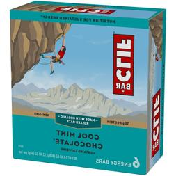 NEW SEALED CLIF ENERGY BAR COOL MINT CHOCOLATE 14.40 OZ 10G