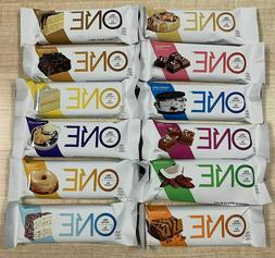 One Protein Bars - 12 Bars - ONE Protein Bar, 12 Flavor Supe
