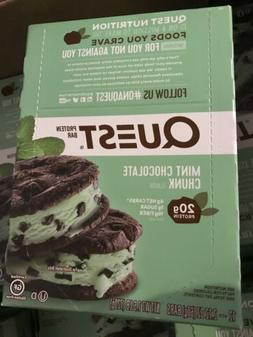Quest Nutrition Protein Bar, Mint Chocolate Chunk, 20g Prote