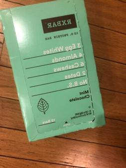 Protein Bar Mint Chocolate by RxBar - 12 Rx No B.S. Bars Exp