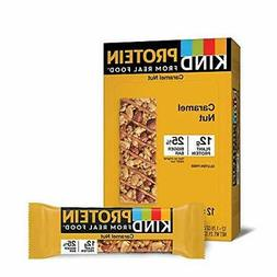 KIND Protein Bars Toasted Caramel Nut Gluten Free 12g Protei