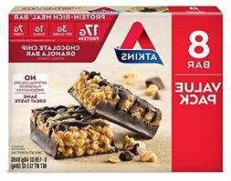 Atkins Protein-Rich Meal Bar, |Chocolate Chip Granola.)
