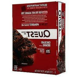 Quest Nutrition Quest Bar Chocolate Brownie 12 bars