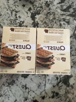 Quest Protein Bar, S'mores, 2 x 12ct Boxes 24 Bars Total 2.1