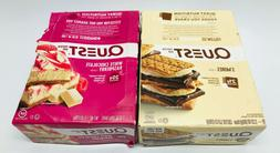 Quest Protein Bar, S'mores & White Chocolate Raspberry, 12 B