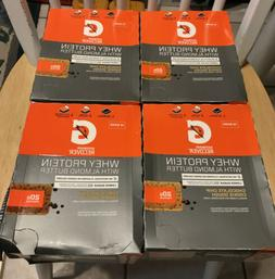 Gatorade Recover Whey Protein Bars LOT OF 4 BOXES 48 BARS Ch