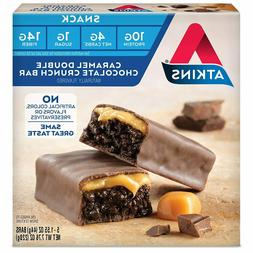 Atkins Snack Protein Bar Caramel Double Chocolate Crunch Ket