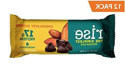 whey protein bar chocolate chip almond healthy